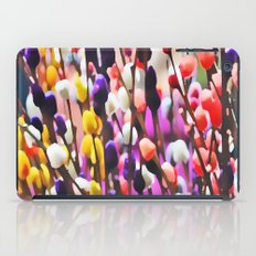 Abstract Pussy Willows iPad Case