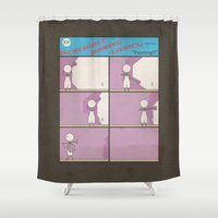Incredibly Boring Comics… Shower Curtain