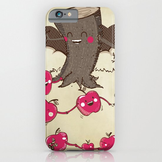 Apples and Tree Trunks Are Best Friends iPhone & iPod Case