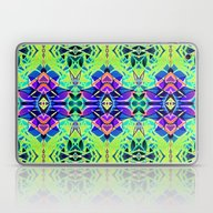 Floral Geometric Abstrac… Laptop & iPad Skin