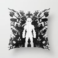 Ink Blot Link Kleptomani… Throw Pillow