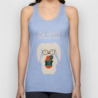 Hipster #LOVE Unisex Tank Top