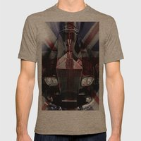 The Great British Rolls Mens Fitted Tee Tri-Coffee SMALL