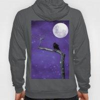 Moonlit Winter Sky Hoody