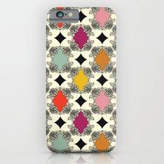 Moroccan Rose Motif Slim Case iPhone 6s
