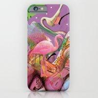 FLAMINGO ACID TRIP  iPhone 6 Slim Case