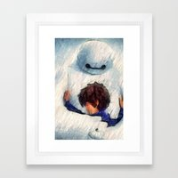 I Can't Loose You Too... Framed Art Print