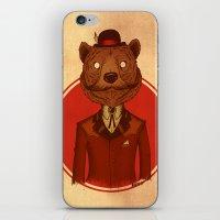 {Bosque Animal} Oso iPhone & iPod Skin