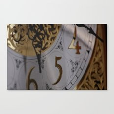 The Time Canvas Print