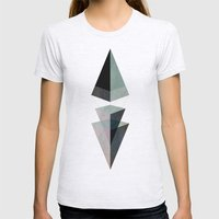Solids Invasion Womens Fitted Tee Ash Grey SMALL