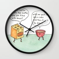 Bowl Of Batter, What's T… Wall Clock