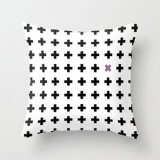 Crosswise Throw Pillow