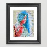 Flare Framed Art Print