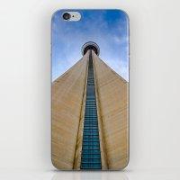 CN Tower up close iPhone & iPod Skin