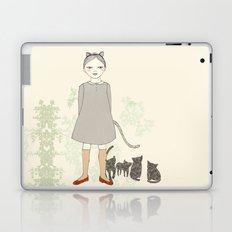 Cat Girl Laptop & iPad Skin