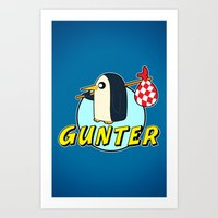 Pingu Time Art Print
