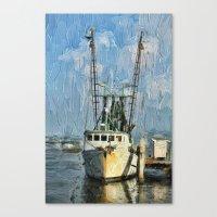 Fishing Anyone Canvas Print