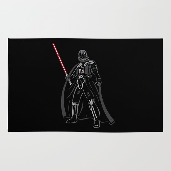 Font vader Area & Throw Rug