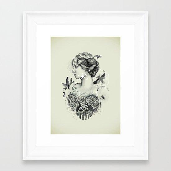 Core II Framed Art Print