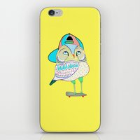 Rad Owl iPhone & iPod Skin