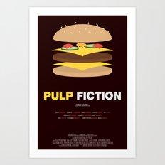Pulp Fiction – Minimal… Art Print