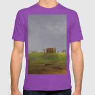 Dreamy Landscape Of Cabo… Mens Fitted Tee Ultraviolet SMALL