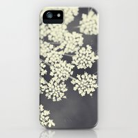 iPhone 5/5s Case featuring Black and White Queen Annes Lace by Erin Johnson
