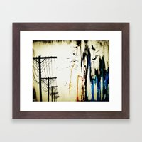 pylons Framed Art Print