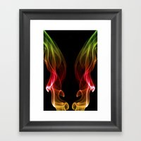 Smoke Photography #13 Framed Art Print
