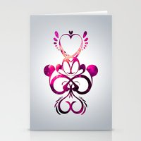 Martian Love Stationery Cards