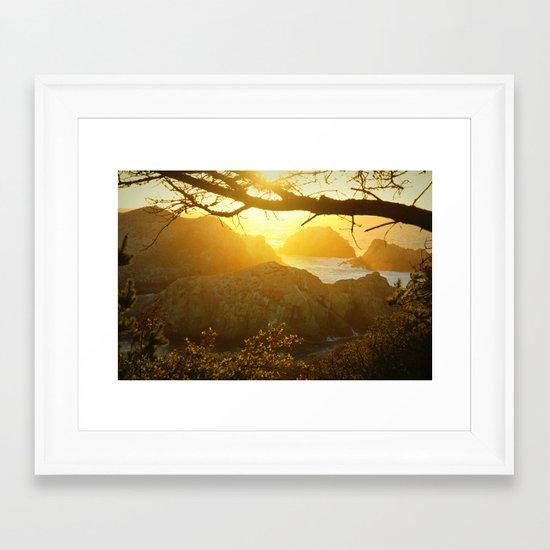 everlasting impression Framed Art Print