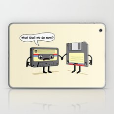 The Obsoletes (Retro Floppy Disk Cassette Tape) Laptop & iPad Skin