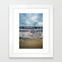 Ancient Ruin Framed Art Print
