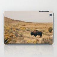 Bison Bull On Antelope I… iPad Case