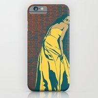 Lady in Yellow Dress iPhone 6 Slim Case