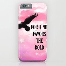 Surreal Fantasy Pink Nature Raven Typography iPhone 6s Slim Case