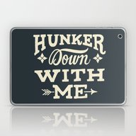 Laptop & iPad Skin featuring Hunker Down by Mary Kate McDevitt