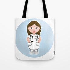 Job Series: the doctor Tote Bag