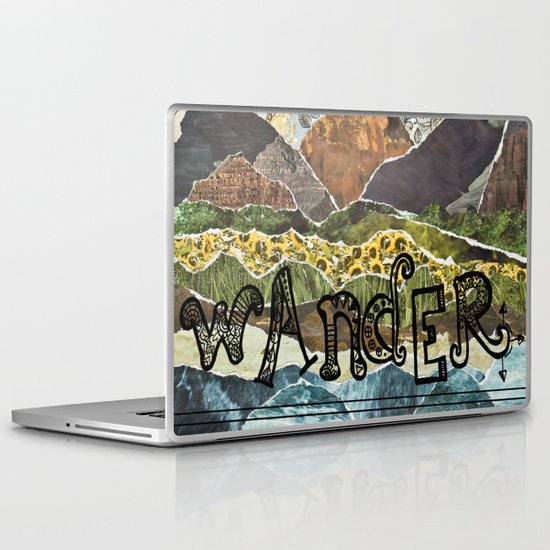 Compass Rose Garden Laptop & iPad Skin