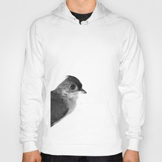 Natural History Bird Photograph - Tufted Titmouse Hoody