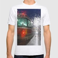 Rain Rider Mens Fitted Tee Ash Grey SMALL