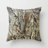 Nature Camouflage Throw Pillow