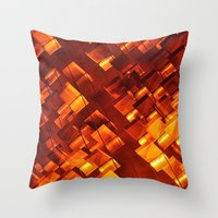 Art Deco Wall Design (found in NY) Throw Pillow