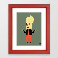 Clive Framed Art Print