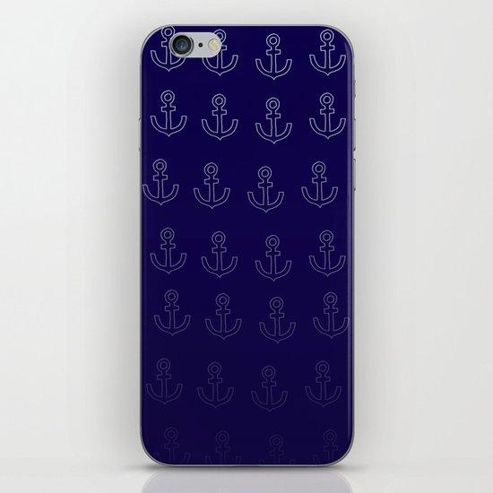 Anchors Aweigh! iPhone & iPod Skin