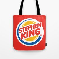 Stephen King Tote Bag