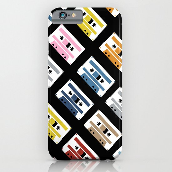 Rainbow Tapes 45 iPhone & iPod Case