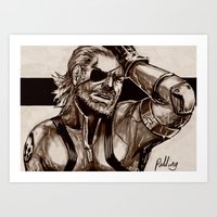 Big Boss Art Print