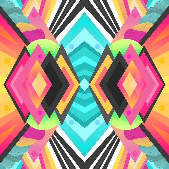 Space Garden / Pattern Art Print