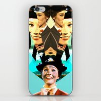 Molly Poppins iPhone & iPod Skin
